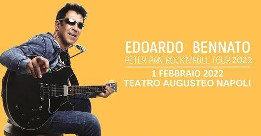 Edoardo Bennato in Tour - Teatro Augusteo Napoli - 01 Febbraio 2022 Teatri & Eventi